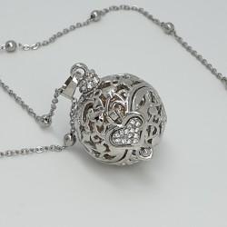 Collana Chiama Angeli argento