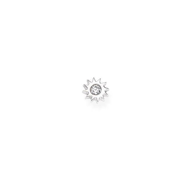 Amen-mono-recchino-sole-argento-rodiato-zircone-bianco-eb28