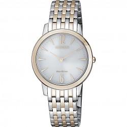 citizen-orologio-donna-acciaio-bicolore-eco-drive-lady-quadrante-madreperla-tondo-32mm-ex149682a