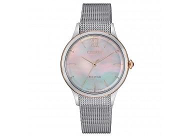 citizen-orologio-donna-acciaio-eco-drive-l-quadrante-tondo-madreperla-nera-em081688y