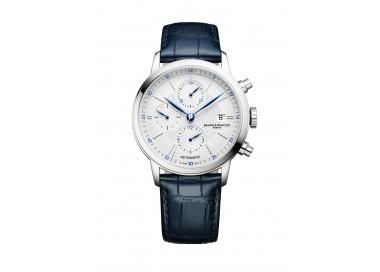 Baume-Mercier-Classima-Chronograph-automatico-fasi-lunari-cronografo-cinturino-in-pelle-o-acciaio-m0a010330