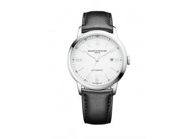 Baume-Mercier-orologio-da-uomo-Classima-automatico-cinturino-pelle-nera-m0a10332