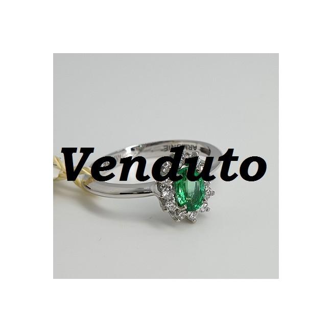 Armonie-by-Progetti-Oro-Anello-oro-bianco-diamanti-smeraldo-P5wq