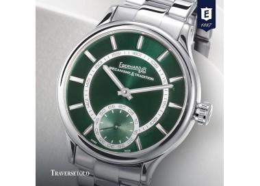 eberhard-orologio-uomo-traversetolo-acciaio-meccanico-carica-manuale-bracciale-quadrante-verde-21116ca2