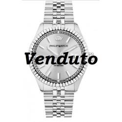 Philip-Watch-Caribe-Orologio-uomo-automatico-quadrante-argentato-sunray-bracciale-acciaio-R8223597012