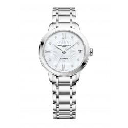Baume-Mercier-Classima-Lady-Quartz-Orologio-donna-quarzo-diamanti-acciaio-bicolore-cinturino-acciaio-M0A10335