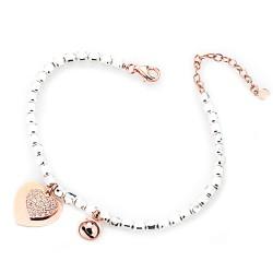 marcello-pane-bracciale-argento-rodiato-campanella-cuore-rosa zirconi