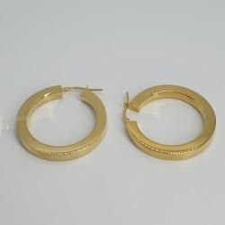 marcello-pane-orecchini-argento-dorato-cerchi-sezione-quadrata