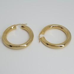 marcello-pane-orecchini-argento-dorato-cerchi