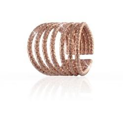 unoaerre-anello-bronzo-rosato-diamantato-7-fili