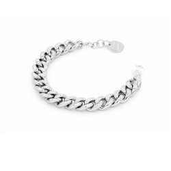 Unoaerre-bracciale-bronzo-argentato-grumetta-cristalli-19cm
