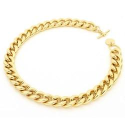 unoaerre-collana-bronzo-dorato-grumetta-battuta-45cm