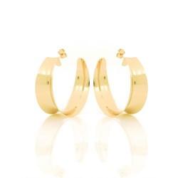 unoaerre-orecchini-bronzo-dorato-cerchio-incavo-finitura-lucida