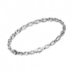 zancan-bracciale-argento-maglie-spaziate