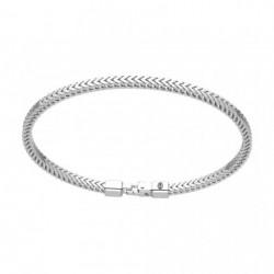 zancan-bracciale-argento-maglia-squadrata