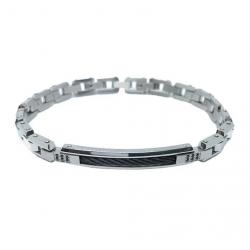 zancan-bracciale-acciaio-bianco-nero-spinelli-neri