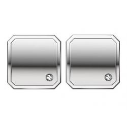 Zancan-gemelli-acciaio-quadrati-zircone-bianco