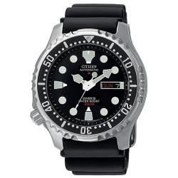 citizen-orologio-promaster-diver-professionale-meccanico-nero-ny004009e