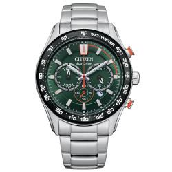 citizen-eco-drive-crono-sport-acciaio-verde-ca4486-82x