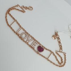 Marcello-pane-bracciale-argento-rosato-love-cuore-zirconi-brit005