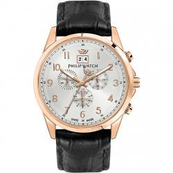 philip-watch-orologio-crono-acciaio-rosato-capetown-uomo-pelle-r8271612001