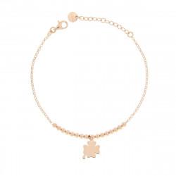 Rue-des-mille-bracciale-argento-rose-pallini-pendente-quadrifoglio