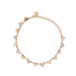 Rue-des-mille-bracciale-argento-rose-cuori-alternati-zirconi-bianchi
