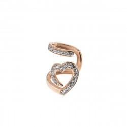 Rue-des-mille-earcuff-argento-rose-cuore-snake-zirconi-bianchi