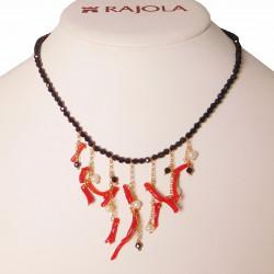 rajola-collana-furore-spinello-corallo-perle-bianche-argento