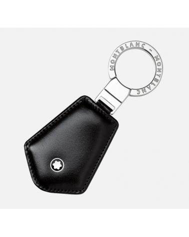 montablanc-portachiavi-con-anello-meisterstuck-pelle-nera-acciaio