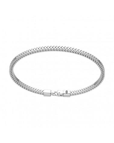 zancan-bracciale-argento-rodiato-maglia-morbida
