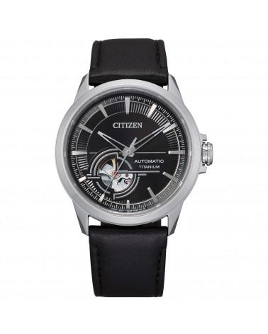 citizen-orologio-uomo-automatico-super-titanio-cinturino-pelle-nero-nh9120-11e