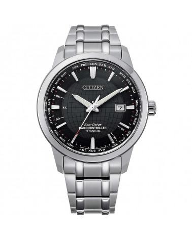 Citizen-orologio-eco-drive-titanium-cronografo-radiocontrollato-nero-bracciale-cb0190-84e