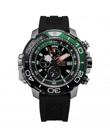 citizen-orologio-acciaio-crono-aqualand-eco-drive-cinturino-nero-bj216801e