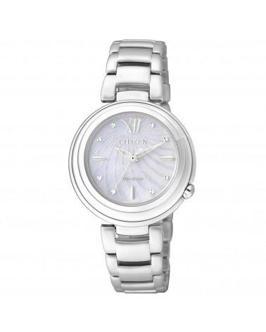 citizen-orologio-acciaio-eco-drive-l-tondo-quadrante-madreperla-em033152d