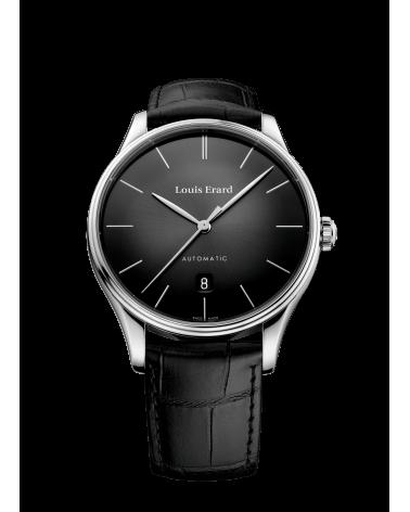 Luois-erard-orologio-heritage-uomo-acciaio-automatico-quadrante-e-conturino-pelle-nero-69287aa62baac82