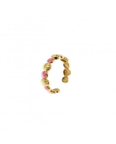 rue-des-mille-anello-aperto-argento-rose-conchiglie-smalto-rosa-aeanconr