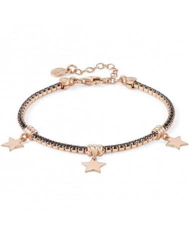 nomination-bracciale-chic-et-charm-argento-placcato-oro-rosa-con-zirconi-neri-charms-stelle-148600033
