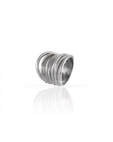 unoaerre-anello-vortie-argento-brunito-fascia-fili-intrecciati-700yaf197b