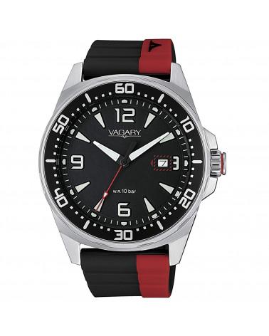 vagary-orologio-uomo-aqua-39-102nd-acciaio-movimento-al-quarzo-cinturino-caucciu-nero-rosso-ib881050