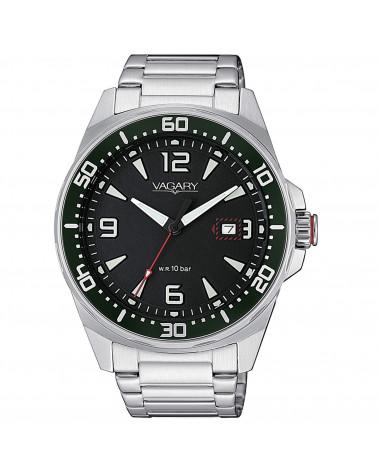 vagary-orologio-uomo-aqua-39-102nd-acciaio-movimento-al-quarzo-bracciale-quadrante-nero-ib881051