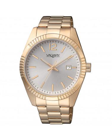 vagary-orologio-uomo-timeless-gents-104th-cassa-e-bracciale-acciaio-dorato-movimento-al-quarzo-quadrante-silver-ib912311