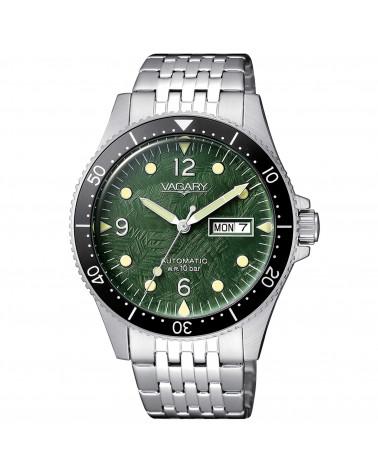 vagary-orologio-uomo-gmatic-aqua-cassa-e-bracciale-acciaio-meccanico-carica-automatica-quadrante-verde-ix331941