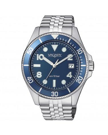 vagary-orologio-uomo-aqua-39-cassa-e-bracciale-acciaio-movimento-al-quarzo-quadrante-e-ghiera-blu-vd501571