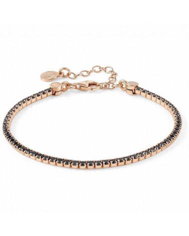 nomination-bracciale-chic-et-charm-argento-placcato-oro-rosa-con-zirconi-neri-148601011