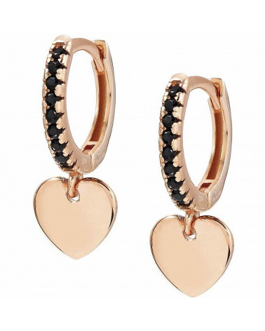 nomination-orecchini-chic-charm-argento-placcato-oro-rosa-con-zirconi-neri-charm-cuore-148604002