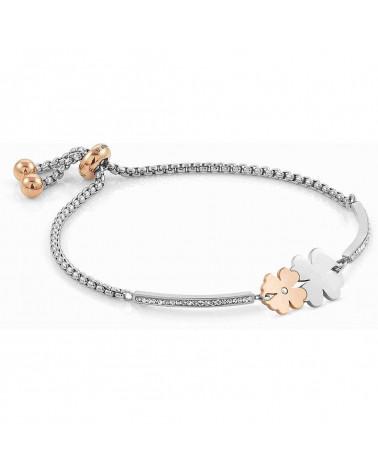 nomination-bracciale-milleluci-acciaio-quadrifoglio-doppio-particolari-placcati-oro-rosa-con-zirconi-bianchi-028004052