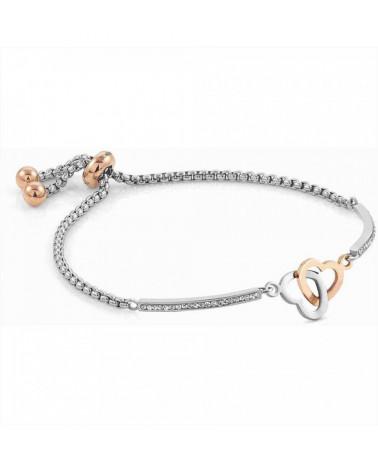 nomination-bracciale-milleluci-acciaio-cuore-doppio-particolari-placcati-oro-rosa-con-zirconi-bianchi-028004051