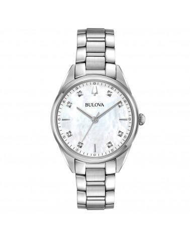 Bulova-Orologio-donna-Sutton-Lady-Diamonds-cassa-e-bracciale-acciaio-quadrante-madreperla-96p199