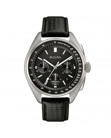 Bulova-Orologio-uomo-lunar-pilot-cronografo-cassa-acciaio-quadrante-nero-cinturino-pelle-nero-96b251